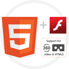 Multi-Device: Seamless HTML5 + Flash video playback