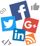 Social, Sharing, Comments Features. RSS Syndication
