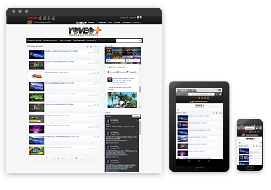 Ws webtv professional video cms showcase examples web for Web tv camera