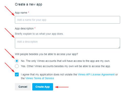 Getting the Vimeo API Info | WS WebTV Documentation | WebTV